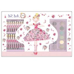 Daisy Patch Art Set - Pretty in Pink