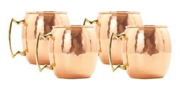 solid copper hammered moscow mule