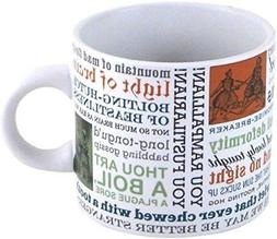 Shakespeare Insults Quotes Mug - Teacher Gift Coffee Cup - N