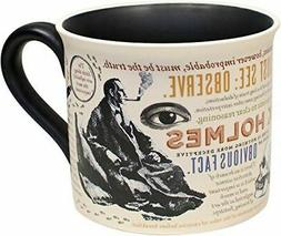 Sherlock Holmes Quotes Mug - English Gift Coffee Cup - Unemp