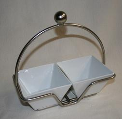 Pampered Chef Simple Additions: Small Bowl Caddy with 2 Smal