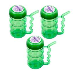 Arrow Sip-A-Mug Translucent Plastic Bottle with Built in Str