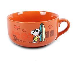 Finex Snoopy - Letter Color Changing - Ceramic Large Cereal