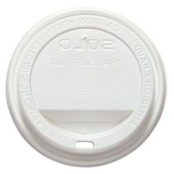 SOLO Traveler Drink-Thru Lid, White, 1000/carton TLP316 NEW