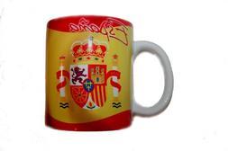 Spain Espana Country Flag Ceramic Coffee Mug Cup . High Qual