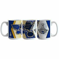 St. Louis Blues 2019 Stanley Cup Champions 15 Ounce Coffee M