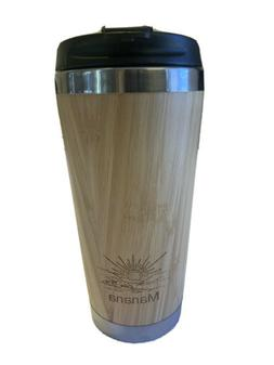 Stainless Bamboo Mug/ Travel Mug-Thermos For Hot &Cold Drink