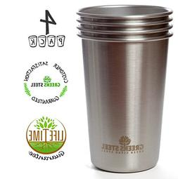 #1 Premium Stainless Steel Cups 16oz Pint Cup Tumbler  By Gr