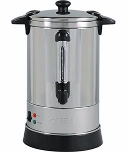30 Cup Stainless Steel Coffee Urn w/ Locking Lid and Stay Co