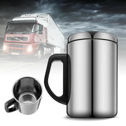 Stainless Steel Cups Mugs Outdoor Travel Cup with Lid For Dr