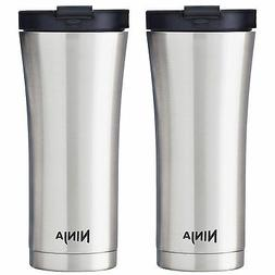 Ninja 16 Oz Stainless Steel Double Walled Hot & Cold Coffee