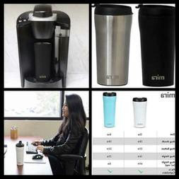 MIRA Stainless Steel Insulated Travel Car Mug | Spill Proof