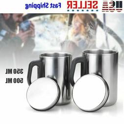Stainless Steel Insulated Thermal Bottle Water Cup Sport Mug