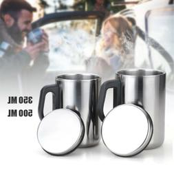 Stainless Steel Insulated Thermal Mug Travel Coffee Thermal