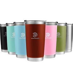 Stainless Steel Tumbler, Coffee Travel Mug 20oz/30oz, Spill