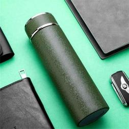 Stainless Steel Vacuum Cup Thermos Flask Travel Water Bottle