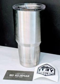 Yeti Stainless Travel Mug 20oz Rambler Coffee Tea Cup Tumble