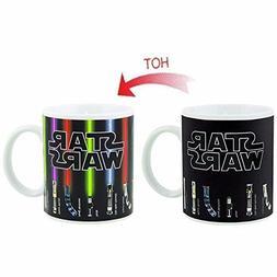 Star Wars Mugs, Lightsabers Heat Change Coffee Mug, Ceramic