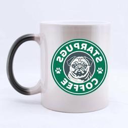 Star Pugs RINGER Mug - Printed Ceramic Coffee Tea Cup Gift
