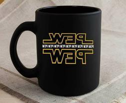 Star Wars Mug Pew Pew Coffee Cup Coffee Mug Gift Mug Tea Cup