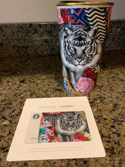 Starbucks Sumatra Tiger Ceramic Travel Coffee Mug Tumbler Cu