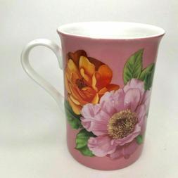 Stechol Gracie Fine Bone China Coffee Tea Mug Cup Rose Flowe