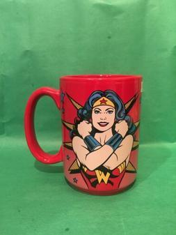 Wonder Woman Strongest Woman Alive Mug Red