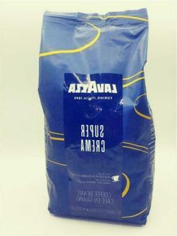 LavAzza Super Crema Coffee Beans 2.2 LB