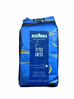 Lavazza Super Crema Espresso Whole Bean Coffee - 2.2lb Bag