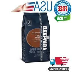 Lavazza Super Crema Whole Bean Coffee Blend, Medium Espresso