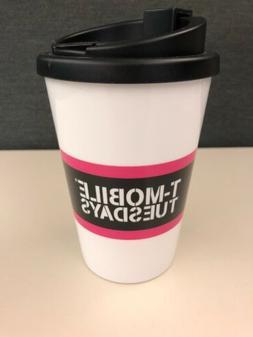 T-Mobile Tuesdays Travel Coffee Cup Mug with Lid - BPA Free