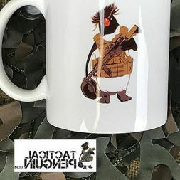 TACTICAL PENGUIN 8 oz coffee mug