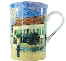 Tea Mug Coffee Cup Van Gogh White House at Night Fine China