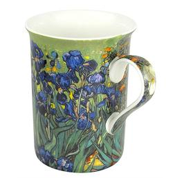 Heath McCabe Tea Mug Cup Coffee Van Gogh Iris Fine Bone Chin