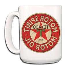 Texaco Oil Large COFFEE MUG CUP 15 oz No 1