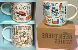 Texas Houston Souvenir Starbucks Coffee Tea Mug Been There T