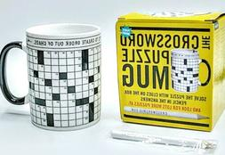 The Crossword Puzzle Mug Gift by The Unemployed Philosophers