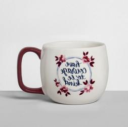 Threshold Statement Coffee Mug Have Courage To Be Kind 14 Oz