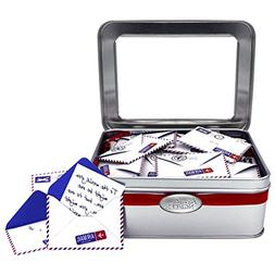 Tin KindNotes INSPIRATIONAL Keepsake Gift Box of Messages fo