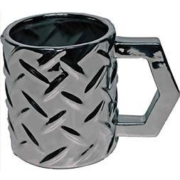 Streamline Tough & Rugged Steel Plate Mug AMG031