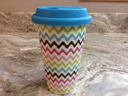 Travel Coffee Mug. ECO ONE Ceramic Double Wall Insulated. Co