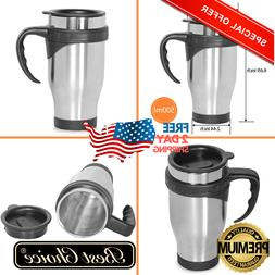 Travel Coffee Mug Cup Stainless Steel Insulated Thermos Mug