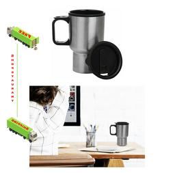 Travel Coffee Mug Thermal Insulated Stainless Steel Cup Leak