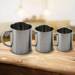 Tumbler Tea Cup Drinkware Portable Double Wall Stainless Ste
