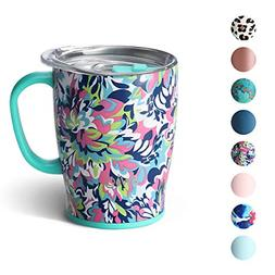 Triple Insulated Travel Mug with Handle and Lid Dishwasher S