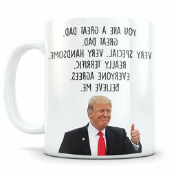 Trump Father's Day Mug Fathers Day Gift Trump Fathers Day Gi