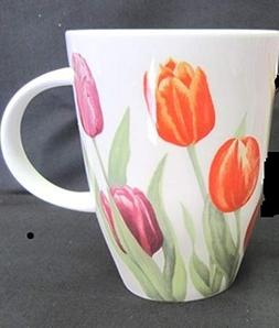 Roy Kirkham Tulip Garden English Bone China Mug