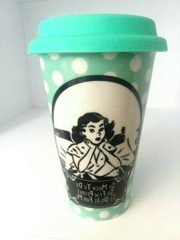 Eco One Green Tumbler Coffee Mug 16oz So Much To Do So Few P