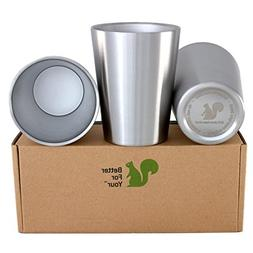 Better For Your - Small Tumbler Cups Stainless Steel Double