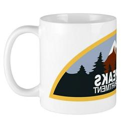 Twin Peaks Sheriff Department 11oz Ceramic Coffee Mug **FREE